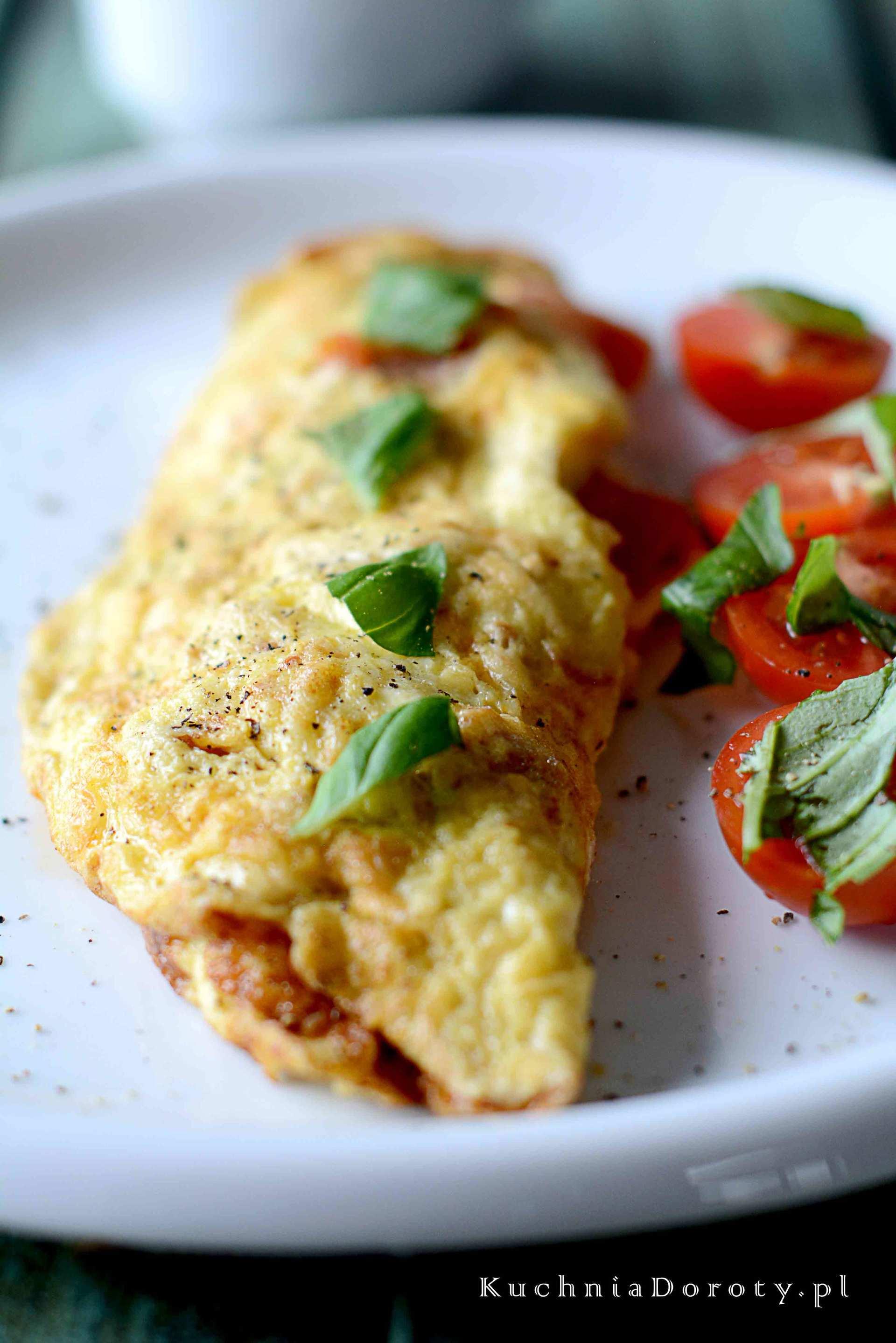 Omlet zPomidorami