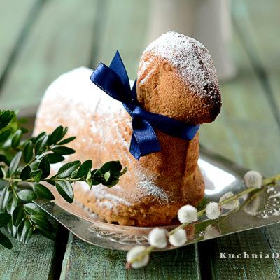 Baranek Wielkanocny z Ciasta