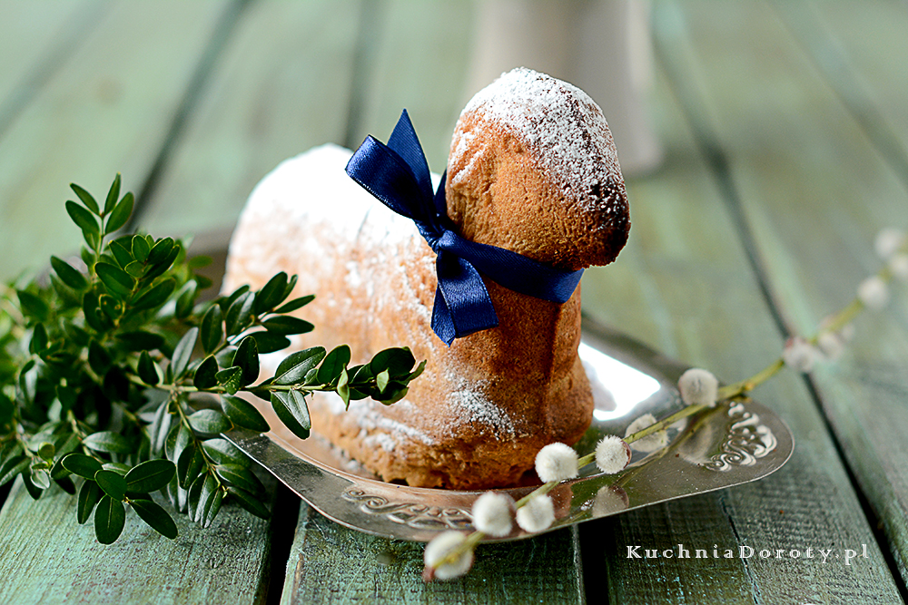 Ciasto Piaskowe – Baranek Wielkanocny