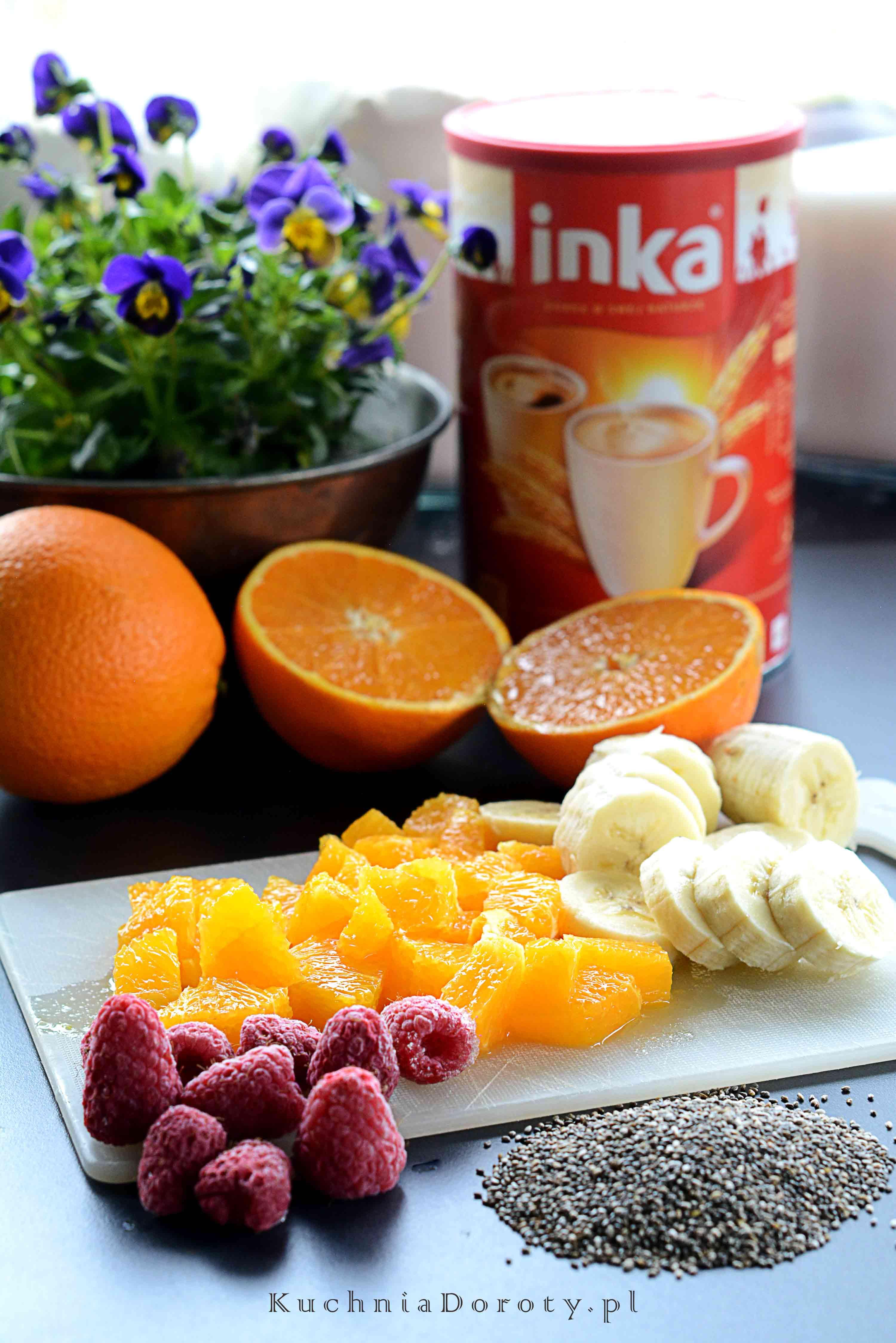 Szybki Pudding Chia z Owocami
