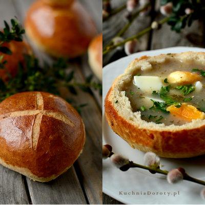 Chleb do Żury Wielkanocnego
