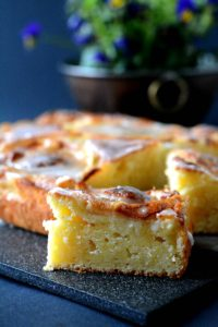 Ciasto Serowo Cytrynowe