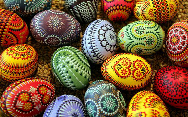 GERMANY-SORBS-CRAFT-EASTER-EGG-MARKET