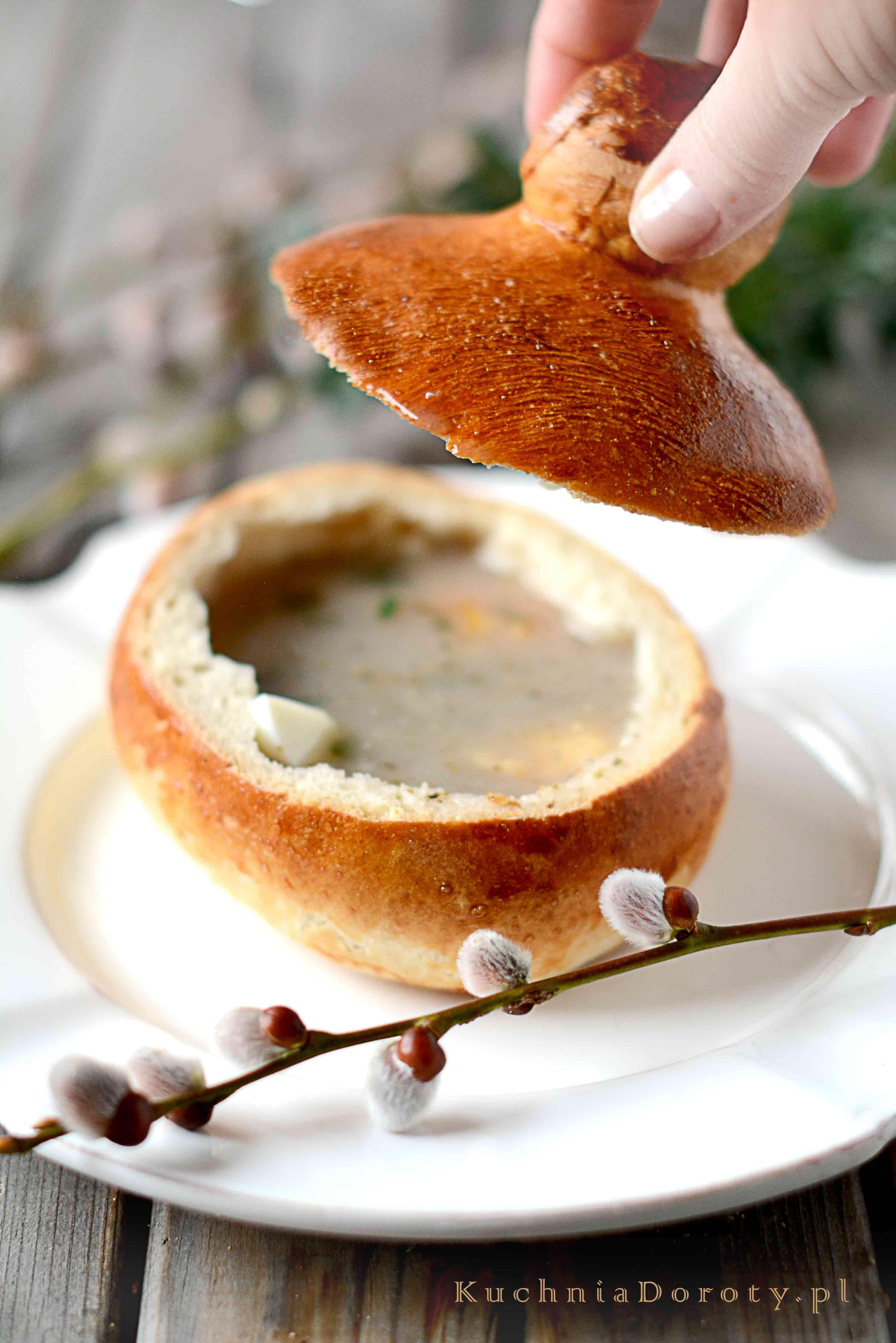 Przepis na pyszny Chleb do Żurku Wielkanocnego. Smaczny i długo świeży, zawsze się udaje.
