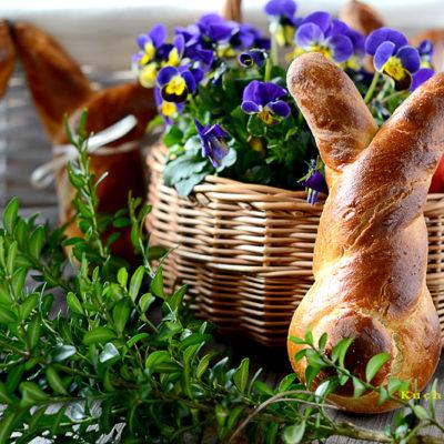 zające Wielkanocne z Ciasta