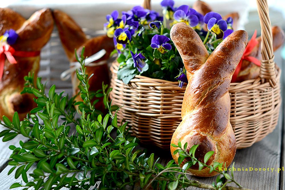 zające Wielkanocne zCiasta
