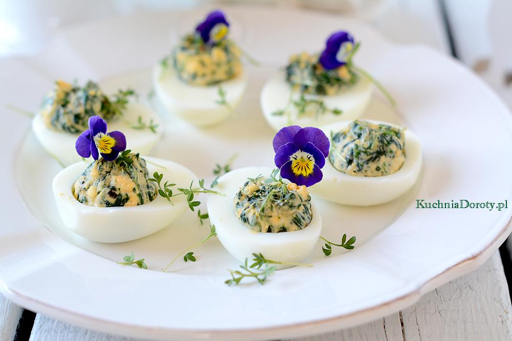 Jajka Faszerowane Szpinakiem – Pyszne