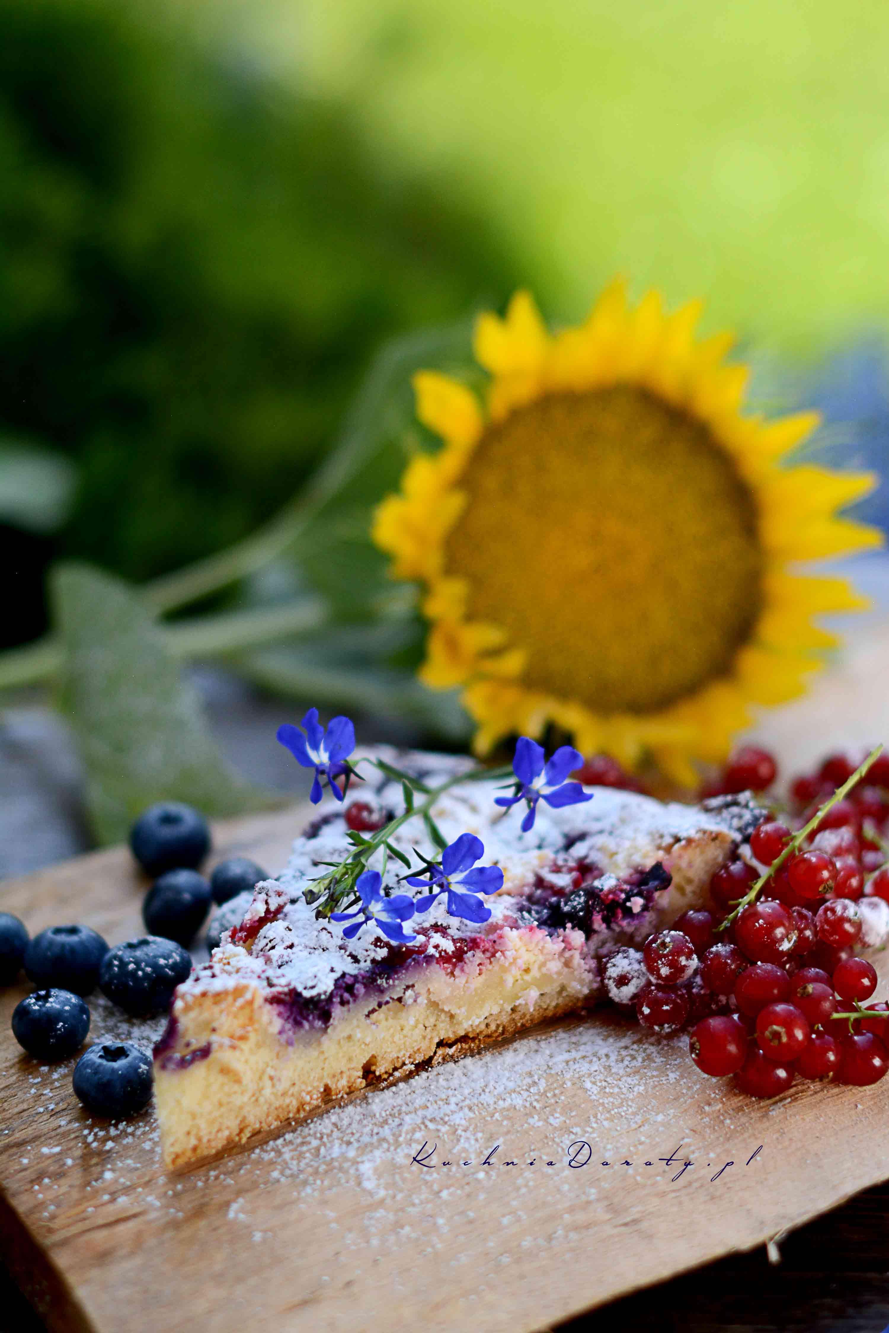 Ciasto Drożdżowe zowocami