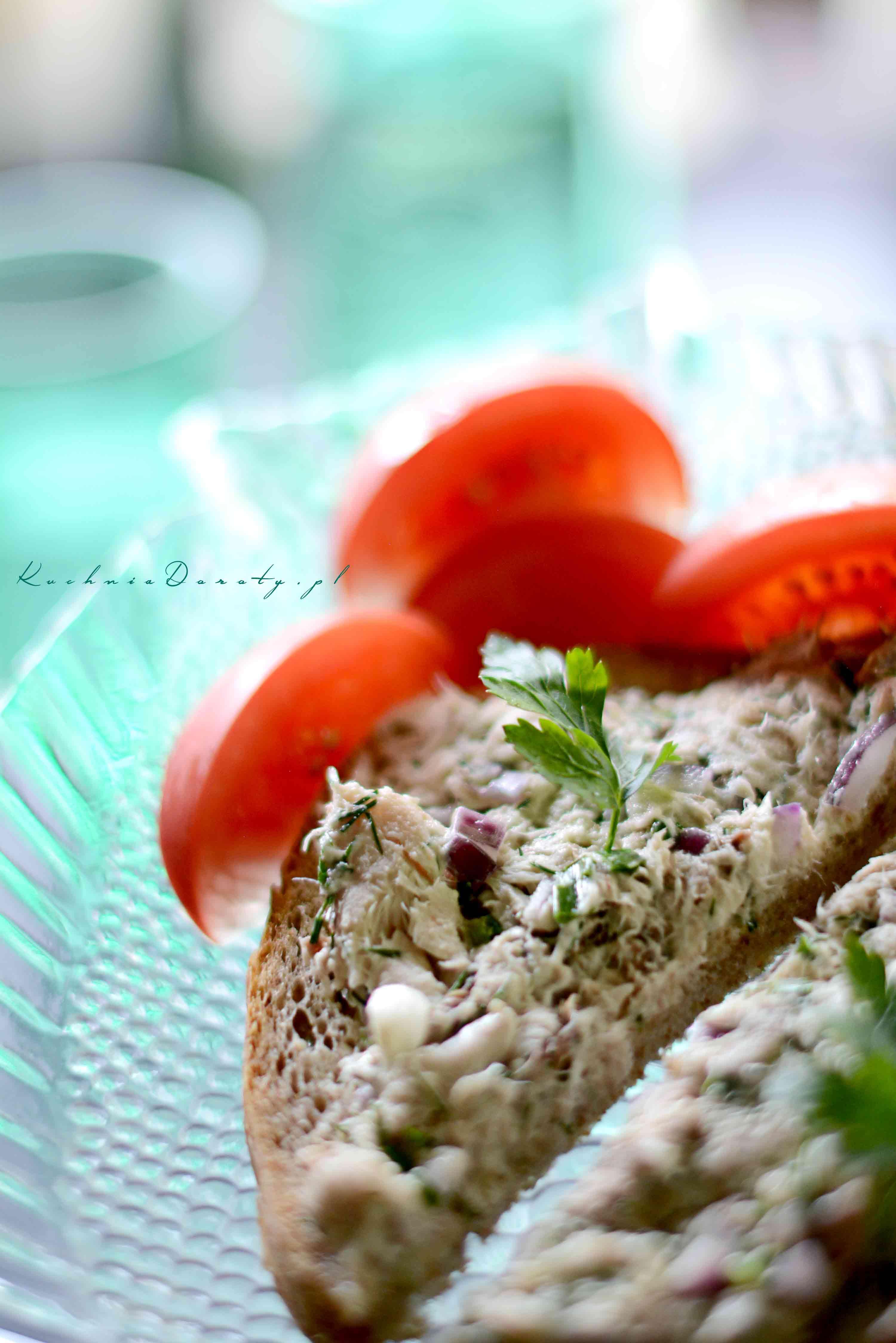 Pasta Rybna z Makreli