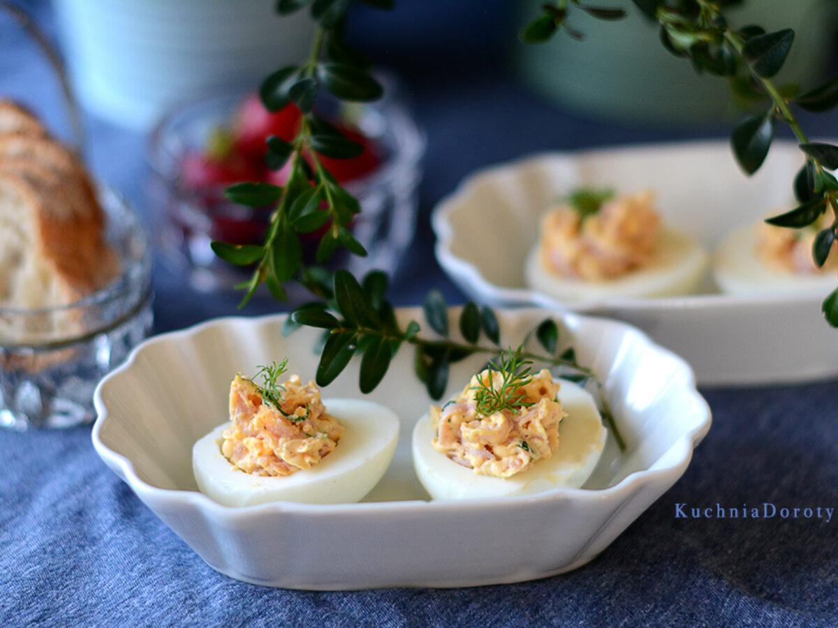 Jajka Faszerowane Szynka Kuchnia Doroty