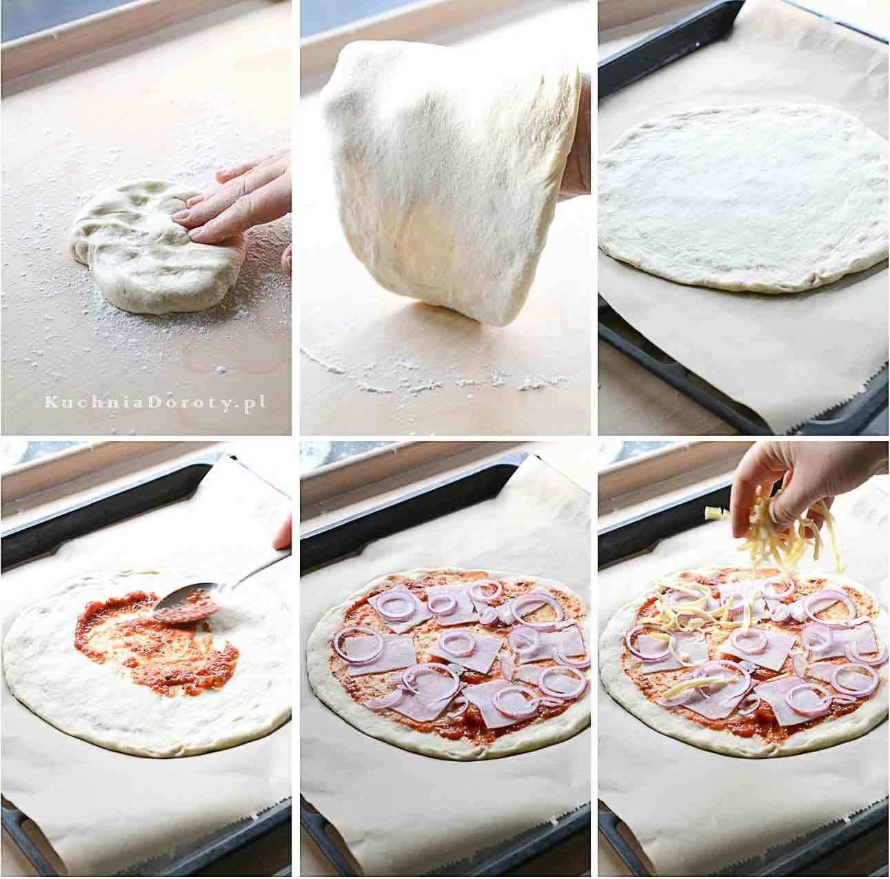 Jak zrobić Domowe Ciasto do Pizzy