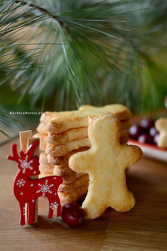 Ciasteczka Kruche Cytrynowe