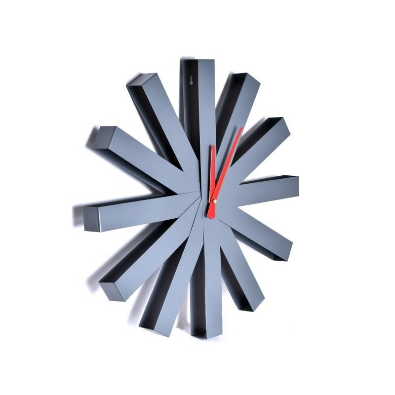 zegar-scienny-norweski-styl-trevlig-50-cm-szary