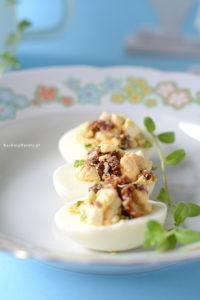 Jajka Faszerowane z Mozzarellą