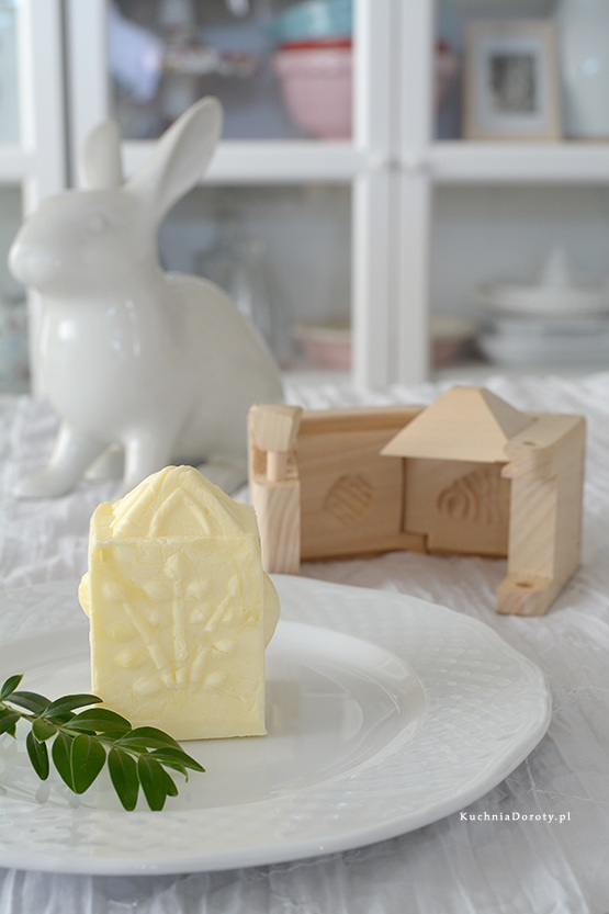Drewniana Foremka do Masła