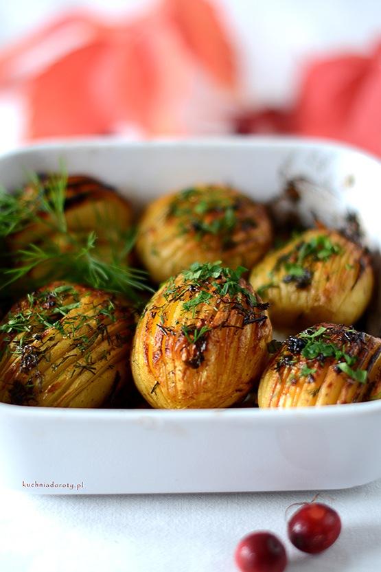 Ziemniaki Pieczone – Hasselback