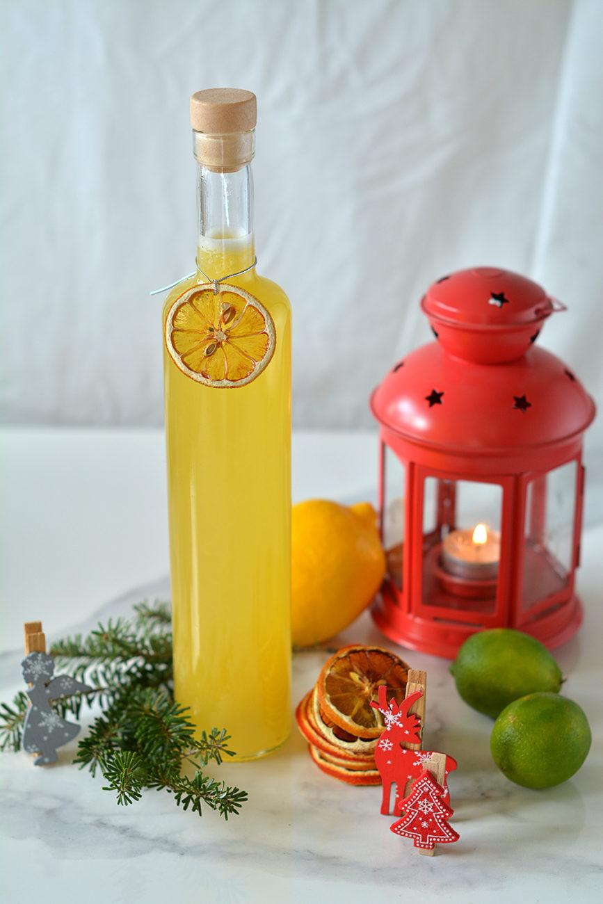 Cytrynówka – Domowy Likier Cytrynowy