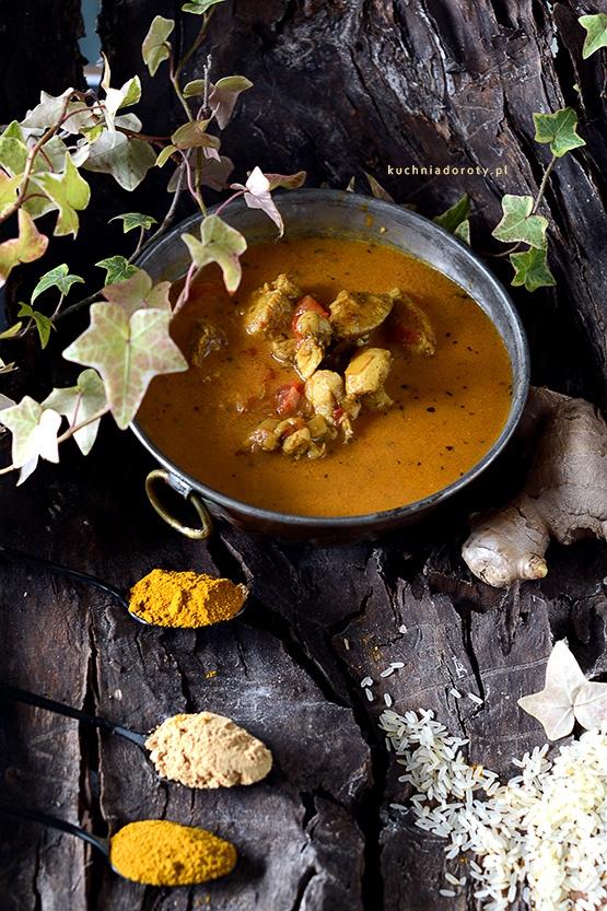 Kurczak Curry z Mlekiem Kokosowym – przepis z filmem
