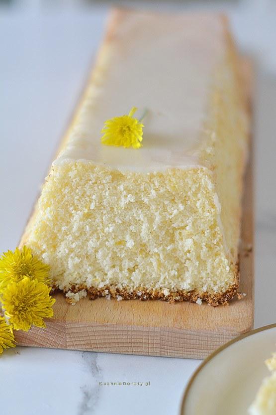 Ciasto Cytrynowe Bardzo Puszyste – przepis z filmem