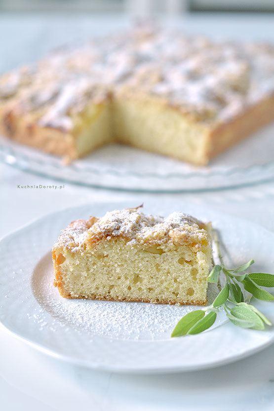 Łatwe Ciasto ze Śliwkami Olejem i Maślanką