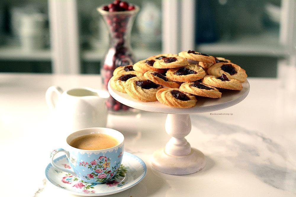 Ciastka Kruche z Marmoladą