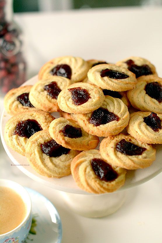Ciastka – Kruche Ciasteczka z Marmoladą – gotowe w 20 min.