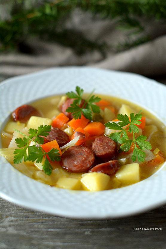 Zupa Kartoflanka z Kiełbasą