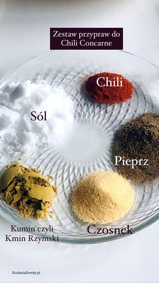przyprawy, przyprawy do mięsa mielonego, przyprawy do chili, przyprawy do chili con carne, zestaw przypraw, domowe przyprawy, chili concarne, chili concarne przepis, przepis na chili concarne, chili, chili przepis, przepis na chili, gulasz z kurczaka, przepis na gulasz z kurczaka, gulasz, gulasz przepis, gulasz wołowy, gulasz wieprzowy, gulasz z indyka, gulasz przepisy, gulasz węgierski, mięso na gulasz, jakie mięso na gulasz, co na obiad, szybki obiad przepisy, obiad w pół godziny, obiad w 30 minut przepisy, obiad w 30 minut, obiad przepisy, gulasz, gulasz przepis, gulasz wolowy, gulasz wołowy, gulasz wołowy przepis, gulasz wolowy przepis, wołowe, wolowe przepisy, wołowe przepisy, gulasz przepis, gulasz węgierski, przepisy, gulasz z szynki, gulasz z szynki przepis, przepisy, przepisy kulinarne, zupa meksykańska, zupa meksykańska przepis, przepis na zupę meksykańską, zupa z mięsa mielonego, zupa z mięsa mielonego przepis, przepis na zupę meksykańską, przepis na zupę z mięsa mielonego, przepisy na karnawał, karnawał przepisy, mięso mielone, mięso mielone przepisy,  co z mięsa mielonego, przepis na obiad z mięsa mielonego, obiad z mięsa mielonego, przepis na obiad z mięsa mielonego, chili con carne, przepis na chili con carne, chili con carne przepis,