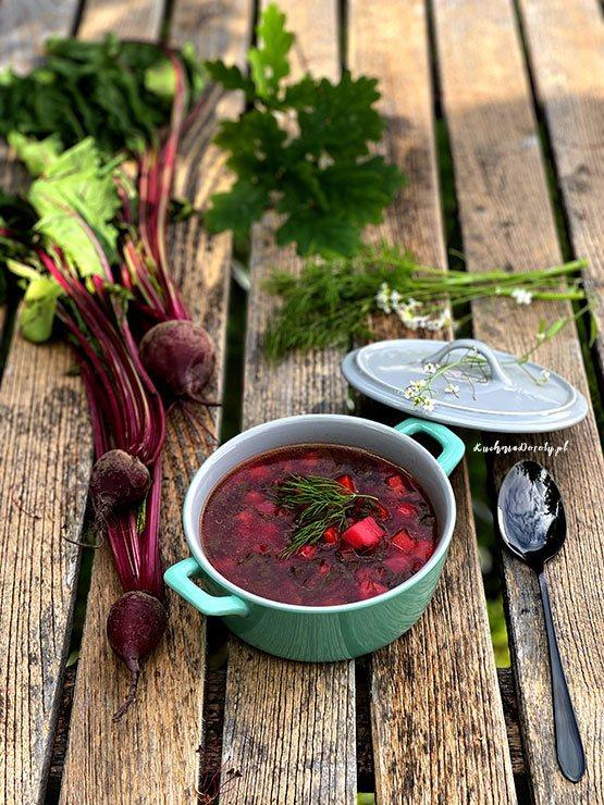 Botwinka – Zupa z Młodych Buraków