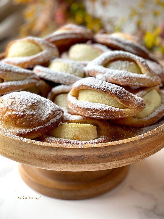 Ciastka Serowe z Jabłkami